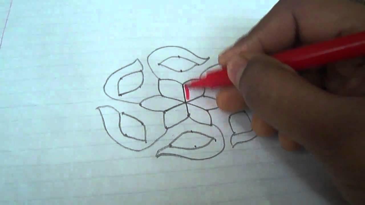 Rangoli designs - YouTube
