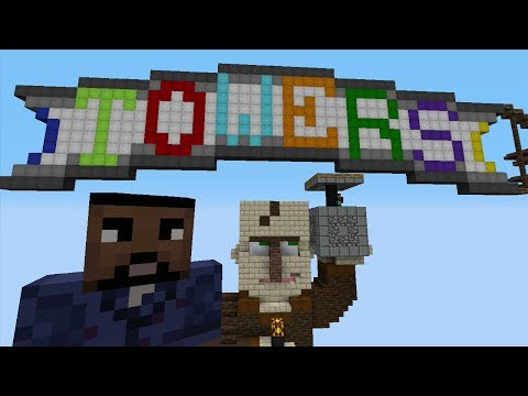 Minecraft Xbox 360 - Towers PVP Map Battle