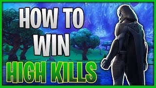 How To Get HIGH KILL Wins (Fortnite Educational Commentary)