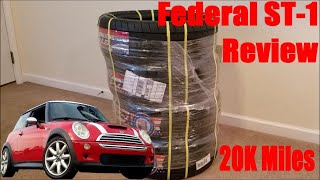 homepage tile video photo for Federal ST-1 Evoluzion Tire Review on an R53 Mini Cooper S