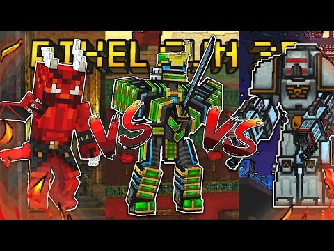 Pixel Gun 3D - Samurai Vs Demon Vs Mech