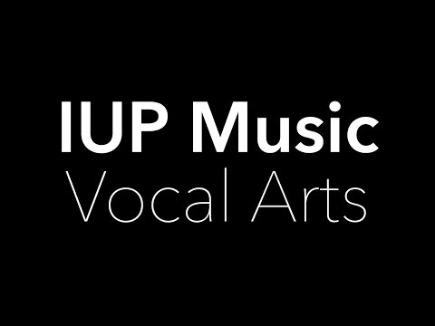 IUP Music: Vocal Arts Area