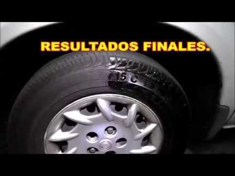 Como limpiar llantas neum ticos descoloridos doovi for Maceteros con ruedas de coche