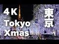 Download [4K]TOKYO Christmas 東京クリスマスイルミネーションTokyo Night view 東京観光 ディスカバーニッポン 東京夜景