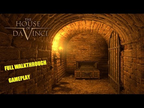 The House of Da Vinci FULL GAME WALKTHROUGH GAMEPLAY (No Commentary)