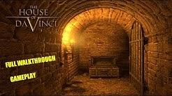 The House of Da Vinci * FULL GAME WALKTHROUGH GAMEPLAY