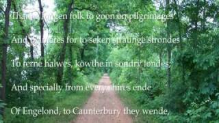 Repeat youtube video Canterbury Tales General Prologue