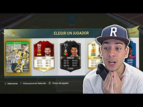 ME JUEGO EL FIFA 17 EN FUT DRAFT!! FIFA 16
