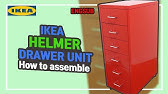 Ikeas Helmer Cabinet Assembly Youtube
