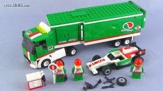 Lego City Grand Prix Truck 60025 Set Build & Review!