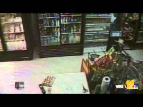Surveillance Video Shows Md. Armed Robbery