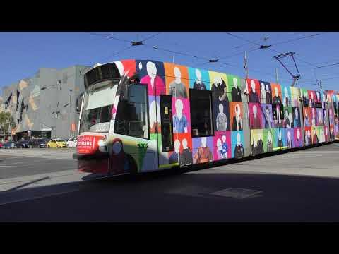 Melbourne Art tram St Albans Heights Primary School's Community Hub D2 5002