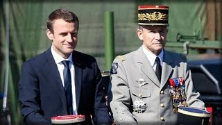 MACRON just got the WORST news about his military after his TOP BRASS makes his move