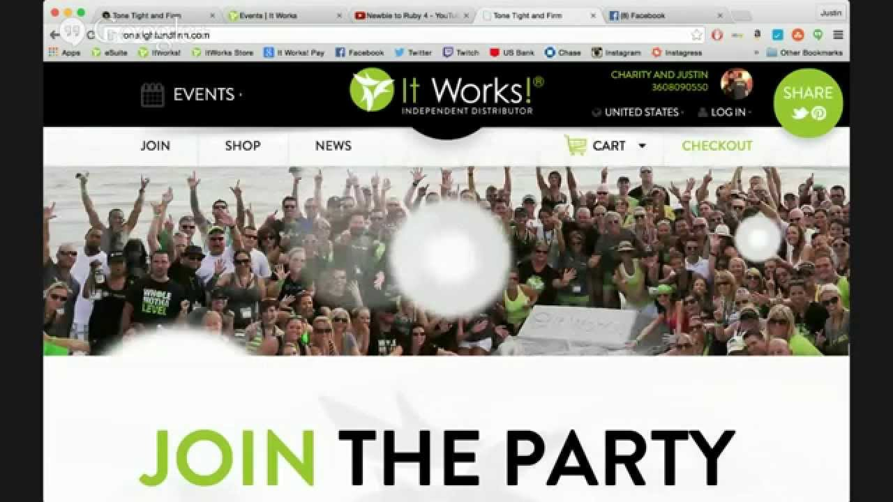 Mask your It Works Link on Facebook with Hover