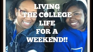 VLOG 9 | Part II of Living The College Life For A Weekend | BSR 2015