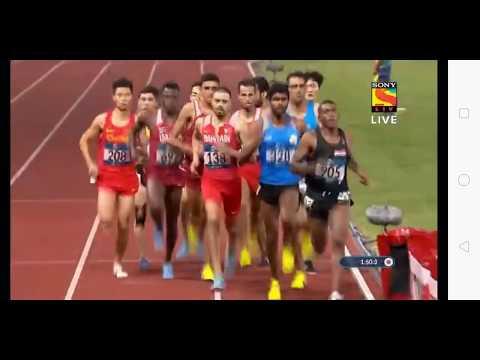 Asian games 1500 mts final race