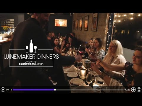 Classic Wine Auction Winemaker Dinners