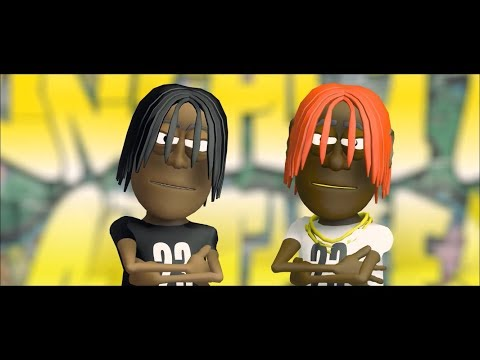 """Unghetto Mathieu """"23"""" Feat Lil Yachty ANIMATION VISUAL"""