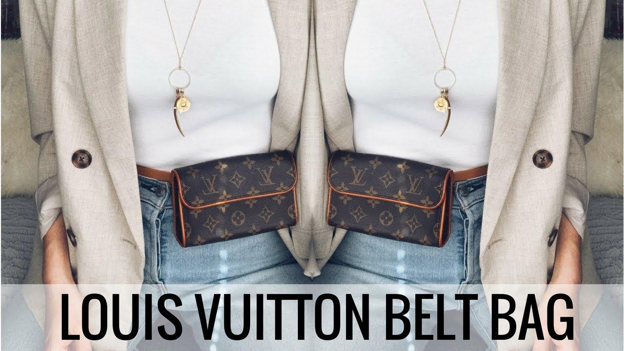 457b410b6 LOUIS VUITTON BELT BAG FOR UNDER €250?! 👜 POCHETTE FLORENTINE ...