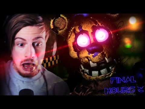 NEVER BREAK INTO AN OLD FNAF PIZZERIA. || FNAF: Final Hours 3 (Demo ENDING)