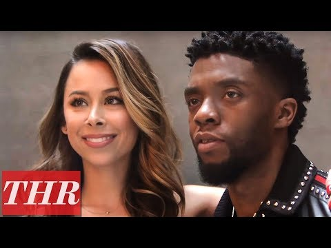 'Black Panther' Star Chadwick Boseman & Stylist Ashley Weston | THR
