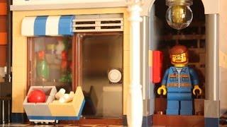 Lego 10218 Creator Pets Shop Timelapse Building
