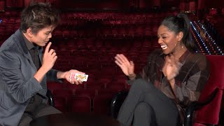 Shin Lim FREAKS out reporter [part 1]