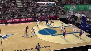 NBA 2K10 (Xbox 360) Gameplay: Washington Wizards vs. Cleveland Cavaliers