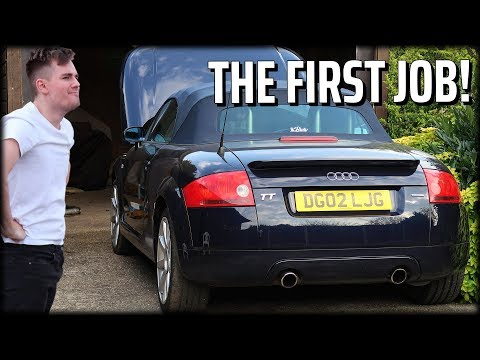 The First Job on the Audi TT!