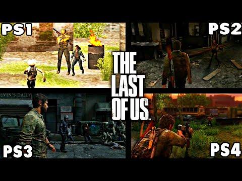 THE LAST OF US PS1 VS PS2 VS PS3 VS PS4