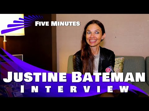 JUSTINE BATEMAN INTERVIEW - TIFF 2017 (Five Minutes and more)
