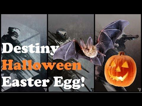 Destiny Halloween Easter Egg!