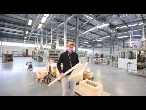 Производство мебельных фасадов из массива дерева на фабрике VERONA Mobili