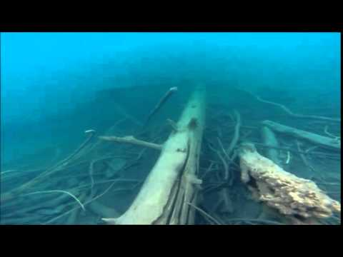 Under the surface Lake Cowichan 2014