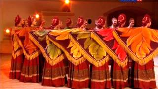 "Russian Girls Folk Country Music Dance ""Oseniy Horovod"" Ensemble ""Berezka"" Russia Amazing MUST SEE!"