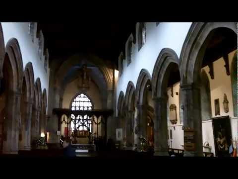 Bangor Cathedral, North Wales