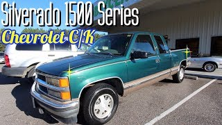 Reviewing the 1996 Chevrolet Silverado C/K 1500 Series ( 22 YEARS LATER )