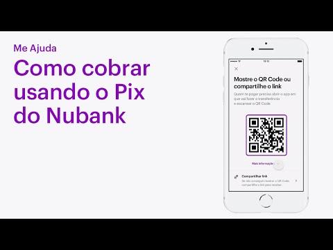 Como enviar uma cobrança do Pix no Nubank   Me Ajuda