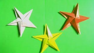 Hướng dẫn gấp giấy | Gấp ngôi sao | Origami