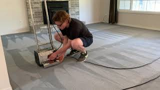 Extremely Satisfying Carpet Cleaning ASMR