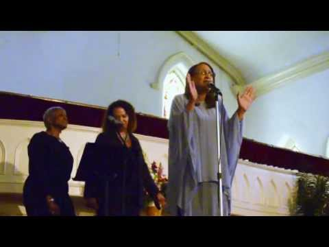 """Dolores """"DeeJazz"""" Jackson at Unity Church of the Triangle"""
