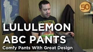 lululemon ABC Pant - 50 Campfires