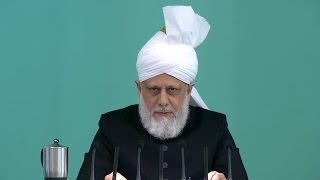 English Translation: Friday Sermon January 16, 2015 - Islam Ahmadiyya