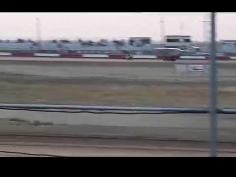 Modlite wreck 8-28-15 Casper Speedway, WY.