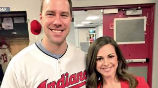 "Sara Carnes ""Sara Smiles"" segment on David Murphy from the Cleveland Indians"