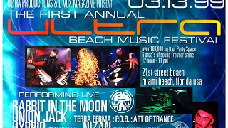 The First Ultra Music Festival on Miami beach