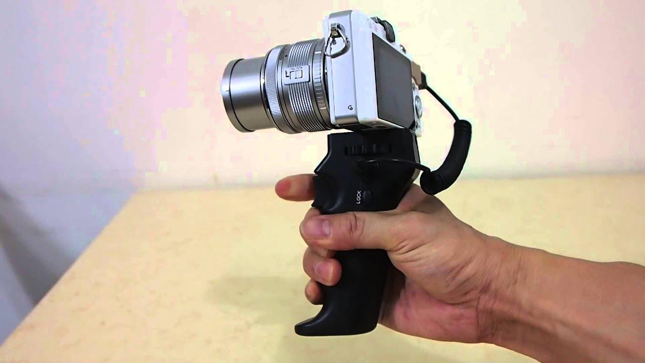 Pistol Grip Shutter Release 相機快門槍把 Youtube