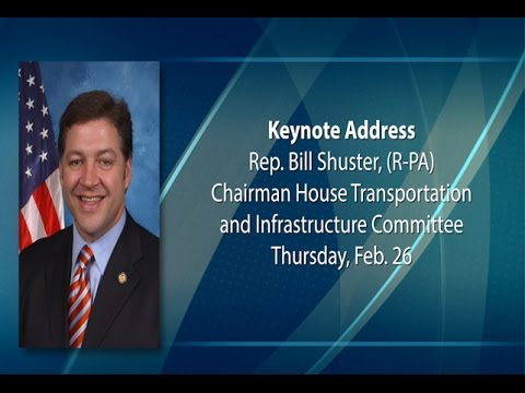 Rep. Bill Shuster, Chair of the House T & I Committee at the AASHTO Washington Briefing