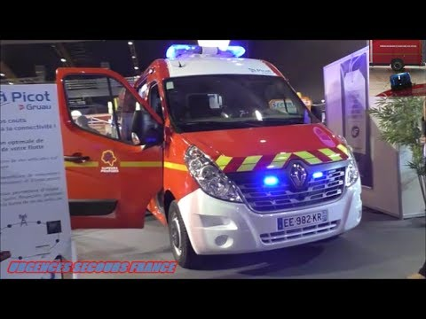 GYROPHARES ET VEHICULES DEMOS / BEACONS AND DEMOS VEHICLES (CONGRES-POMPIERS 2016)