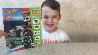 ВМ: Хот Вилс лепим из набора супер теста машинки Hot Wheels clay buddies car